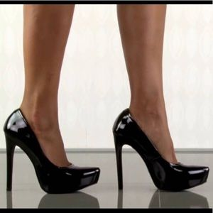 Steve Madden Patent Platform Stilettos
